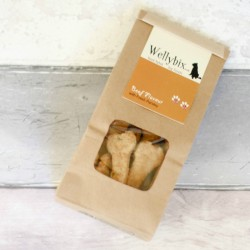 Hand Baked Dog Biscuit - Beef with Fresh Parsley (3pack)