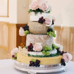 Organic Wedding Cheese Cake