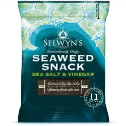 Sea Salt & Vinegar Seaweed Snack