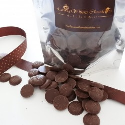 Vegan Organic Dark Chocolate Buttons (Soya & Gluten Free)