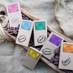 Single Origin Bean to Bar Chocolate Bar Selection (6 bars)