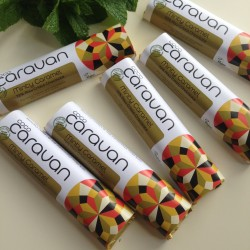 Minty Caramel Raw Vegan Chocolate Bars (6 pack)