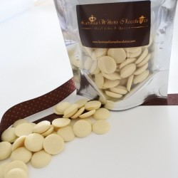Organic White Chocolate Buttons (Soya & Gluten Free)