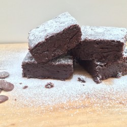 Dairy Free - Vegan - Egg Free Orignal Chocolate Chip Brownie