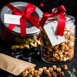 Gingerbread Popcorn
