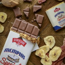 Memphis Special Milk Chocolate Bars Multipack (Banana, Bacon and Peanut Butter )
