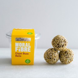 Giant Buzz Balls - Sweet and Salty Protein Snack Balls