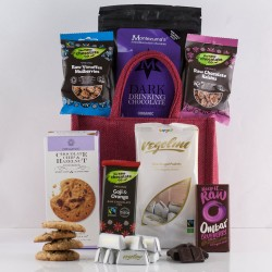 Super Organic Chocolate Gift Bag - Luxury Chocolate Treats