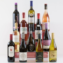 12 Wines in a Gift Box - Suitable for Vegans and Vegetarian