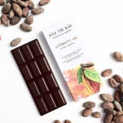 Authentic Me - Classic Original Raw Chocolate Bar - Raiz The Bar