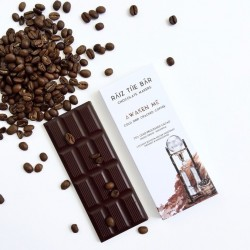 Awaken Me - Cold Drip Coffee Raw Chocolate Bar - Raiz The Bar