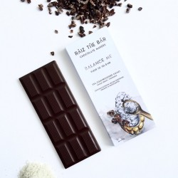 Balance Me: Sea Salt & Nib Chocolate Bar - Raiz The Bar