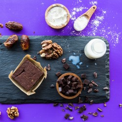 Choco-Walnut Brownie - Good-For-You Dessert Bars