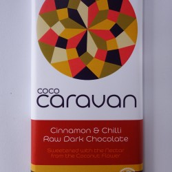 Dark Cinnamon & Chilli Raw Vegan Chocolate Bars (5 pack)