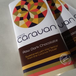Raw Vegan Dark Chocolate Bars (5 pack)