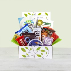 Vegan gift hampers perfect vegan gift baskets yumbles fantastic snacktastic hamper gift box vegan gluten free negle Images