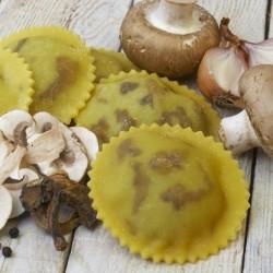 Mushroom Ravioli (Gluten & Dairy Free)