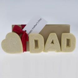Valentines Day Dad Shortbread