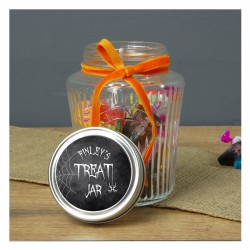 Personalised Halloween Treat Jar