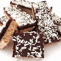 Box of 5 Raw Chocolate Coconut Slices (Gluten Free)