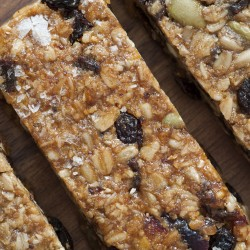 Salted Caramel All Natural Granola Flapjack Bars