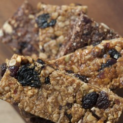 Flame Raisin and Hazelnut All Natural Granola Flapjack Bars - Gluten Free