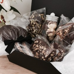 Personalised Dairy Free Chocoholic Gift Box