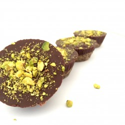 Raw Caramel and Pistachio Tarts (Gluten Free)
