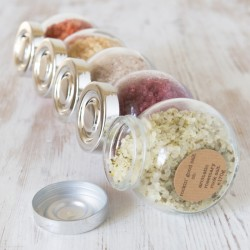 Rock Salt Infused with Fabulous Flavours - 5 Jar Set