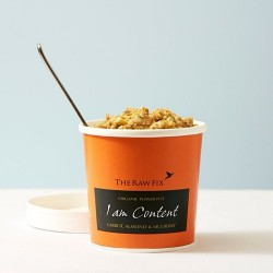 """I am Content"" Carrot Almond & Mulberry Power Pot"