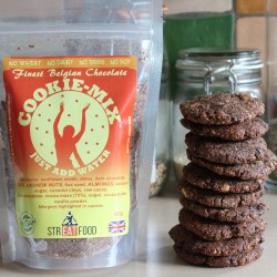 Belgian Chocolate Cookie Mix - Vegan, Wheat Free, Soya Free