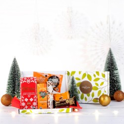Little Christmas Joy Chocolate & Snack Gift Box (Vegan & Gluten-free)