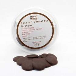 Belgian Chocolate Buttons - Vegan and Gluten Free