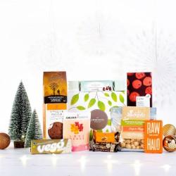 Vegan Christmas Chocolate & Snack Hamper Gift Box
