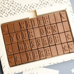 Personalised Chocolate Christmas Gift - XL