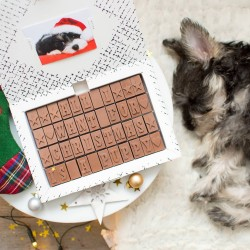 'All I Want For Christmas Is.....?' Chocolate Christmas Card