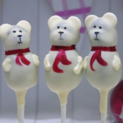 Polar Bear Cake Pop Set