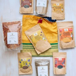 Organic Essential Cooking Spices Gift Set