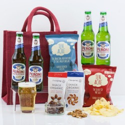 Beer & Snacks with Buddies Gift Bag