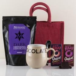Organic Hot Chocolate Gift Bag - Luxury Hot Chocolate Set