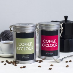 Coffee O Clock Coffee Gift Tin