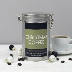 Christmas Coffee Gift Tin