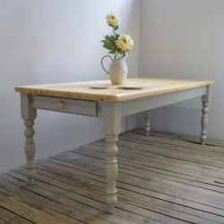 Old English Painted Dining Table