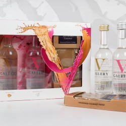 V Gallery Vodka & Fudge Gift Set