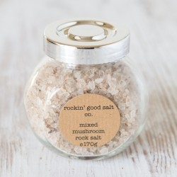 Rock Salt Infused with Umami Mushroom
