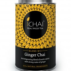100% Natural Ginger Chai (blend no.3) Caddy
