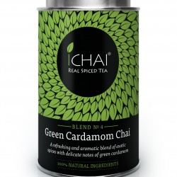 100% Natural Green Cardamom Chai (blend no.4) Caddy