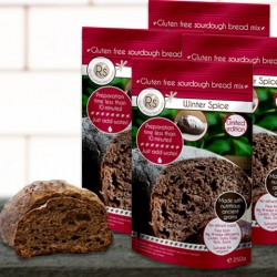 4 Gluten Free Artisan Sourdough Bread Mixes - Winter Spice Limited Edition