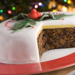 Vegetarian Christmas Cake
