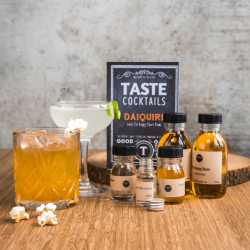The TASTE cocktails Daiquri & Salt Caramel Old Fashioned Kit